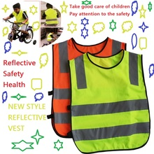 New security site visitors pupil reflective clothes/ reflective vest/ kids reflective vests/ reflective security clothes
