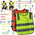 New safety traffic pupil reflective clothing/ reflective vest/ children reflective vests/ reflective safety clothing
