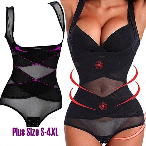Women Body Shaper Slimming Underwear Corset Fitness Slimming Pants Shapewear Waist Trainer Corrective Underwear Tummy Control
