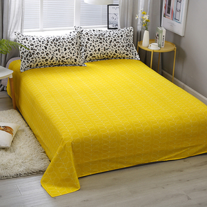 Image 5 - Yellow white Leopard Print Home Bedding Sets Duvet Cover Bed Set Pillowcase Flat Sheet King Queen Double Twin 3/4pcs bed sets