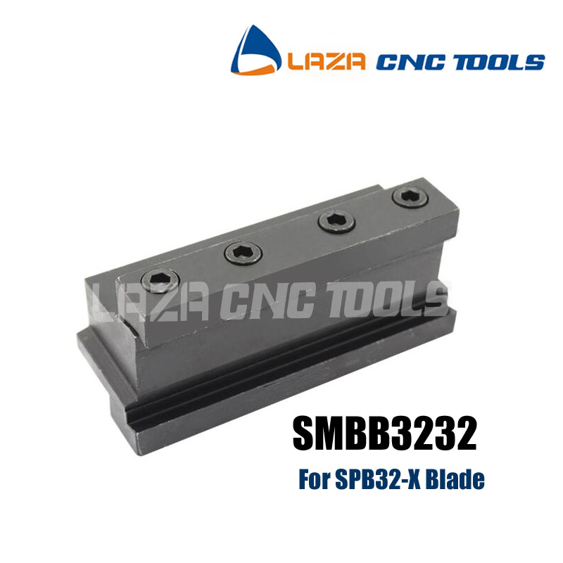 Free Shipping SMBB3232 Parting Block for Indexable Part Off Blade 32mm High Parting Blade, For Parting tool SPB32-2/26-3/26-4