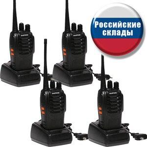 2 PCS 4 PCS Baofeng BF-888S Wa