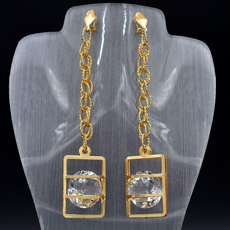 862a7d7d53fb Cheap Soleado joyería de la joyería de moda 2019 gota pendientes para las  mujeres de alta