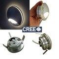 4 pcs Entrada AC100 para AC240V Difusa Luz Passo, LED Acrílico Fosco Recesso Lâmpada de Parede Da Escada Iluminação 1 W 3 W