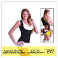 Hot Sale Super Stretch Hot Shapers Control Neoprene Slimming Body Shaper Push Up Vest Top Plus Size