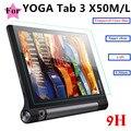 """Ultrafinos 0.33mm 2.5D 9 HTempered tab Tab3 protetor de Tela de Vidro Para Lenovo YOGA 3 10x50x50 m x50f 10 """"Tablet Película Protetora"""