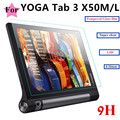 """Ultrathin 0.33mm 2.5D 9HTempered Glass Screen protector For Lenovo YOGA Tab3 tab 3 10 x50 x50m x50f 10"""" Tablet Protective Film"""