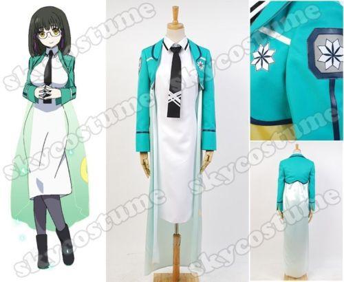 El irregular en la escuela secundaria mágica Mari Watanabe uniforme vestido  Cosplay traje Halloween carnaval conjunto completo 59a9379fae9a1