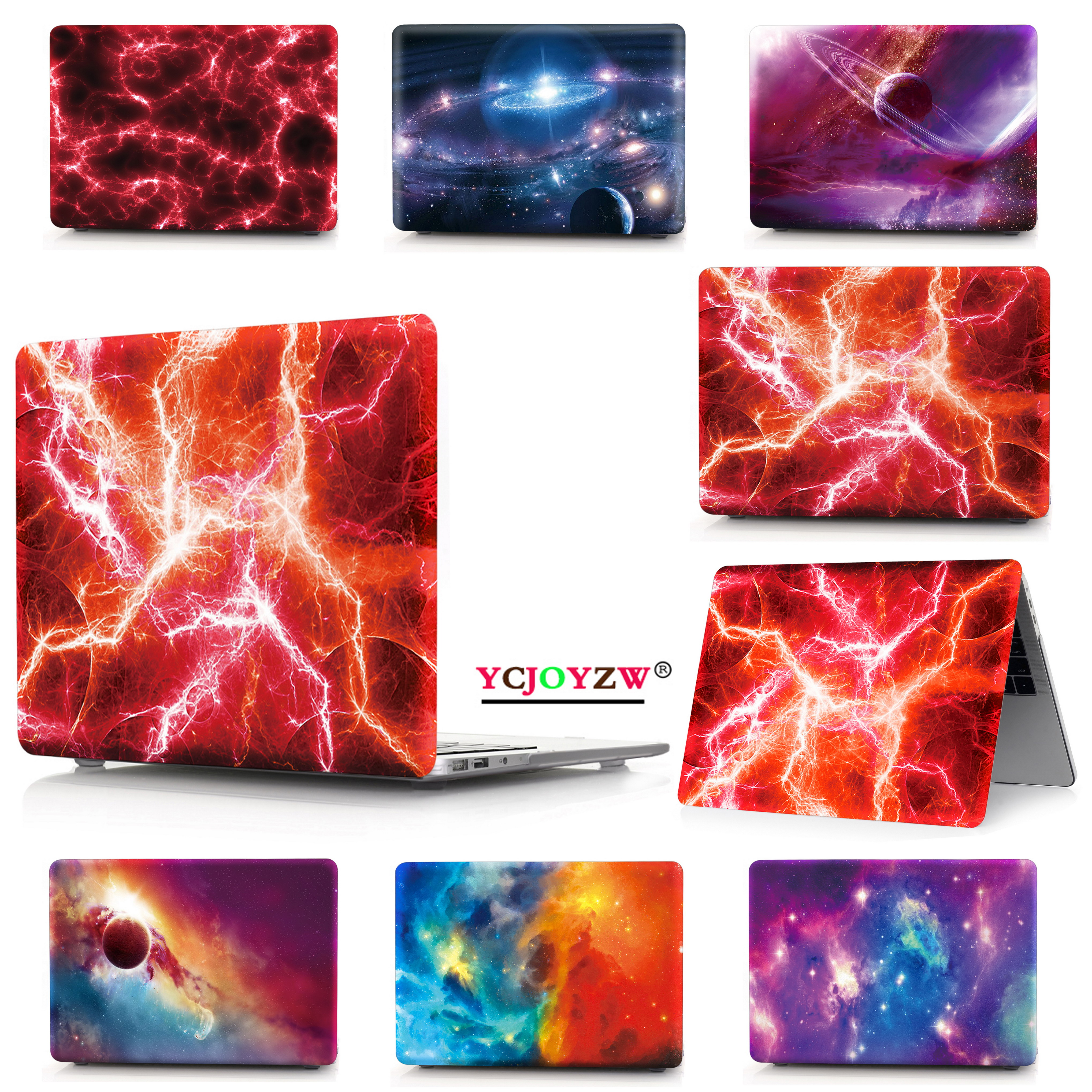 For Macbook New Air Pro 13 15 Touch Bar Laptop Case For Mac Book Air Pro Retina 11 12 13 15 Inch Starry Sky Hard Cover