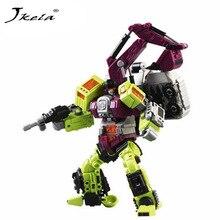 ФОТО Yamala  Transformation Robot Toys Ko Version Gt Scraper klift excavator Action Figures Robot Toys  Children