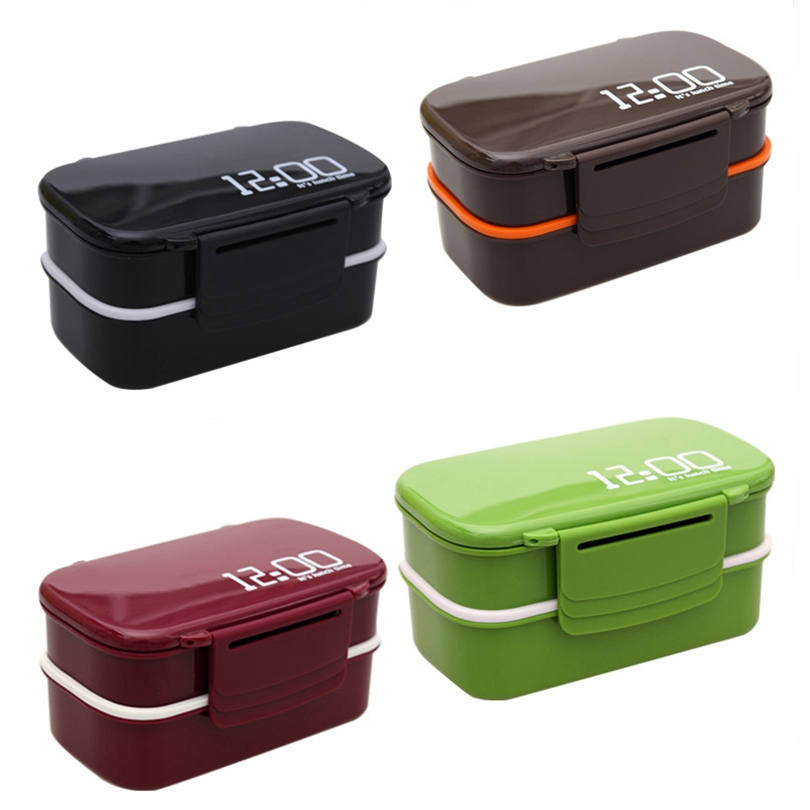 Bento Box Food Storage Container Eco Friendly Fruit shape Portable