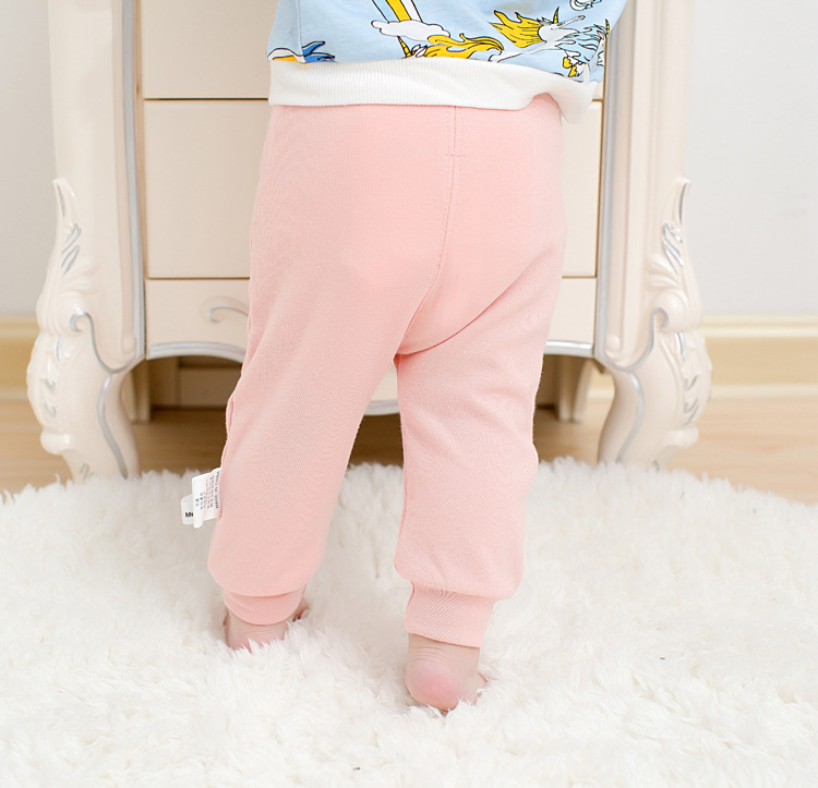 Casual Toddler Trousers Baby Bottoms Pants Infant Boys Girls Cartoon Cute elephant deer sports Pants baby clothes drop shipping (1)
