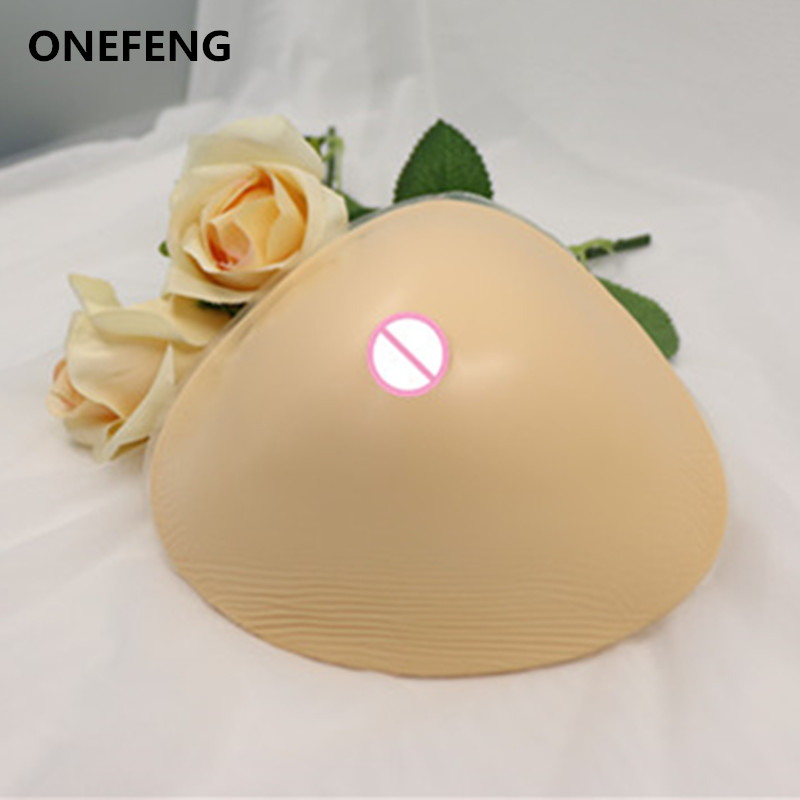 Free Shipping 450-650g/pc Woman Bust Enlargement Artificial Silicone Breast Form Use Mastectomy Breast Restore Imtegrity 650g male