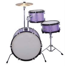 Junior Drum set 3 Pcs Drum sets Percussion Musical instruments Free shipping
