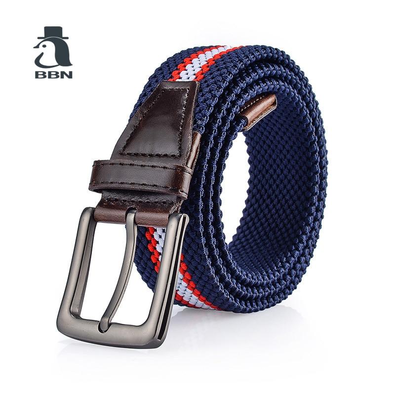 BBN Cinturones hebilla de la aguja masculina estiramiento elástico - Accesorios para la ropa
