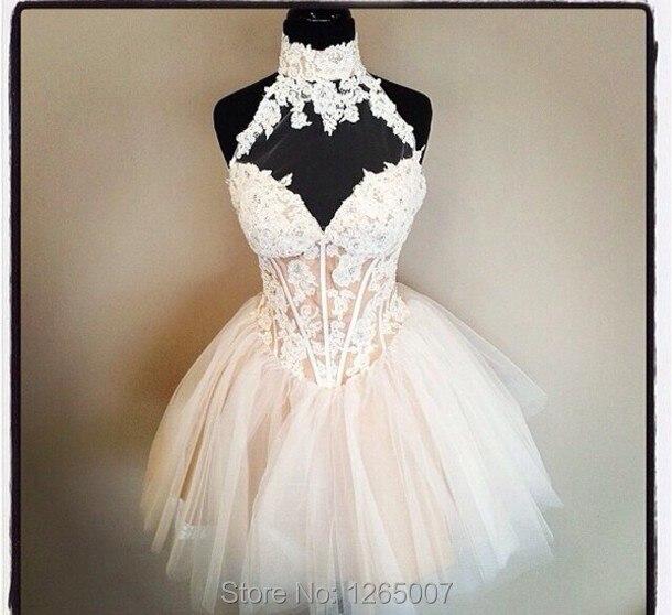 Popular Halter Top Homecoming Dresses-Buy Cheap Halter Top ...