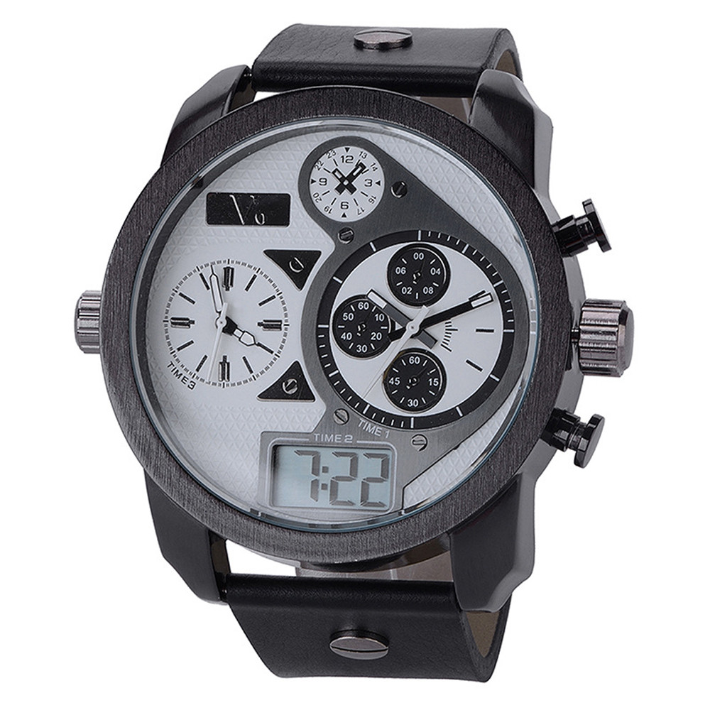 Multi Core Dual Display Casual Watch Minimalist Watch relogio masculino saat montre homme horloges mannen Uhren Hodinky