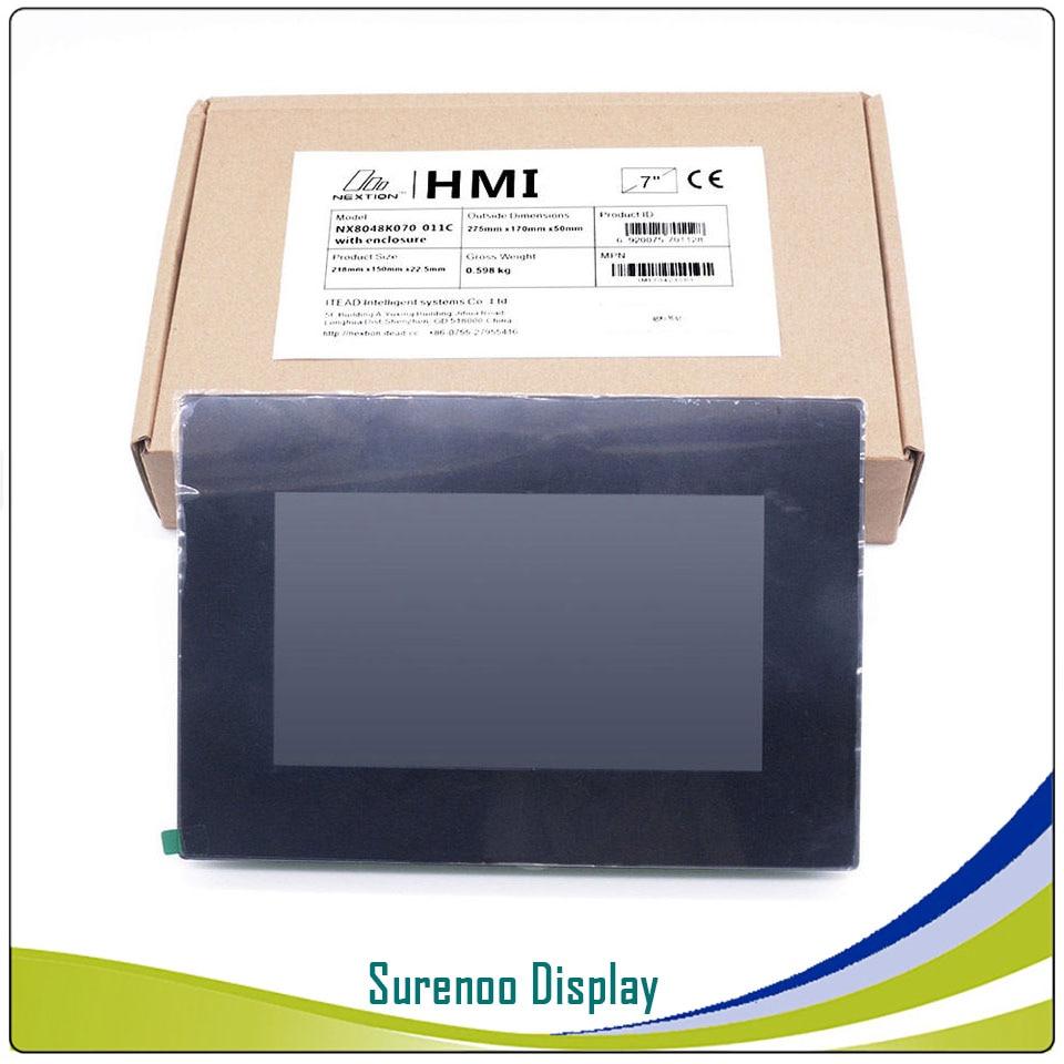 7,0 Nextion Enhanced HMI USART серийный TFT lcd модуль Дисплей резистивная емкостная сенсорная панель с корпусом для Arduino RPI - 6