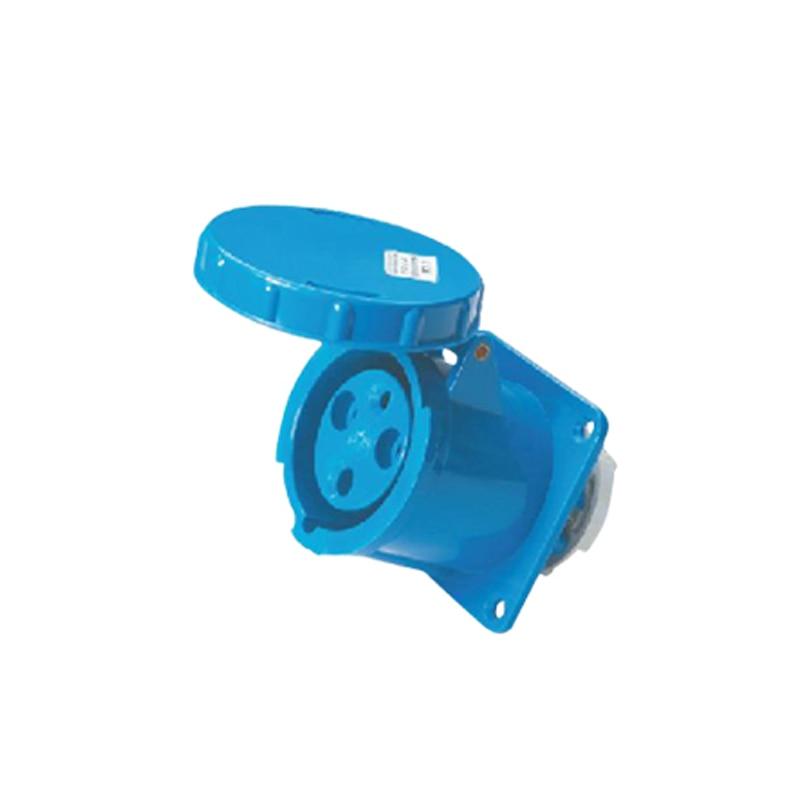 125A 3Pin 220-240V industrial waterproof hidden socket Waterproof grade IP67 SF-343  63a 3pin 220 240v industrial waterproof concealed appliance plug waterproof grade ip67 sf 633