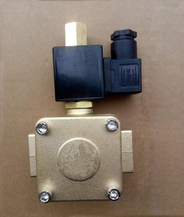 1/2 normally open solenoid valve water valve air valve 00955305 AC220V DC24V DC12 1 2 built side inlet floating ball valve automatic water level control valve for water tank f water tank water tower