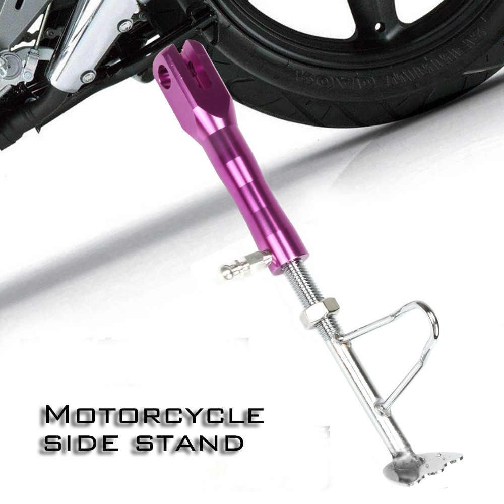 Đối với Xe Máy Phổ/xe đạp Điện/Xe Tay Ga Kick Chân Đế Side Đứng Hỗ Trợ Thanh Nhôm