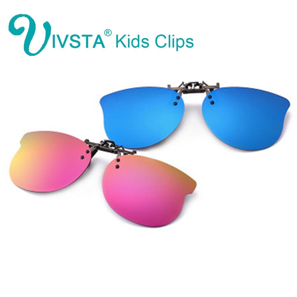 IVSTA Kids Clip On Sunglasses For Children Polarized Hook Clip Sunglasses For Boys Girls Polarized 2018 Flip Up Prescription