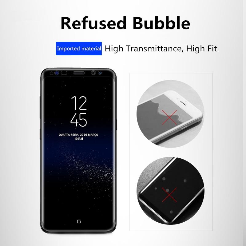 Untuk Samsung Galaxy S8 S8 Ditambah 0.26mm 9 H 3D Melengkung Kaca - Aksesori dan suku cadang ponsel - Foto 3