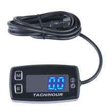 Thermometer Voltmeter Temperature Meter LED Tach Hour Meter for marine dirt quad bike pit bike golf RL HM035L