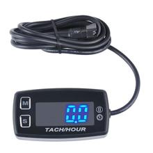 Thermometer Voltmeter Temperatuur Meter LED Tach Urenteller voor marine dirt quad pit bike golf RL HM035L