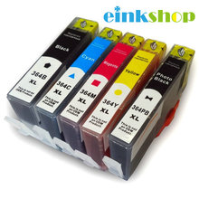 5Pcs For HP 364 364XL Ink Cartridges DeskJet 3070A 3520 Officejet 4610 4620 4622 Photosmart 5510 5520 6510 7510 Printer