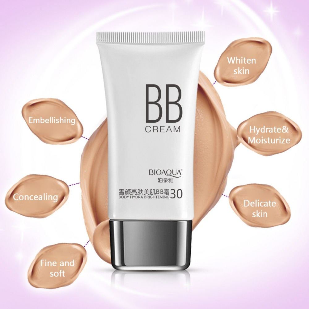 Bioaqua Bb Cream Cc Whitening Moisturizer Base Health Beauty Foundation Light Skin Liquid Powder Concealer Makeup Isolation Cosmetics In Creams From