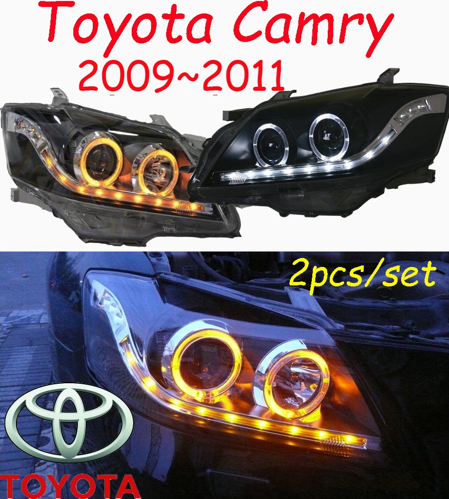 car-styling,Camry headlight,2009~2011/2015~2017,Free ship!2pcs,Camry fog light;car-covers,chrome,Camry head light camry mirror lamp 2006 2007 2008 2009 2011 camry fog light free ship led camry turn light camry review mirror camry side light