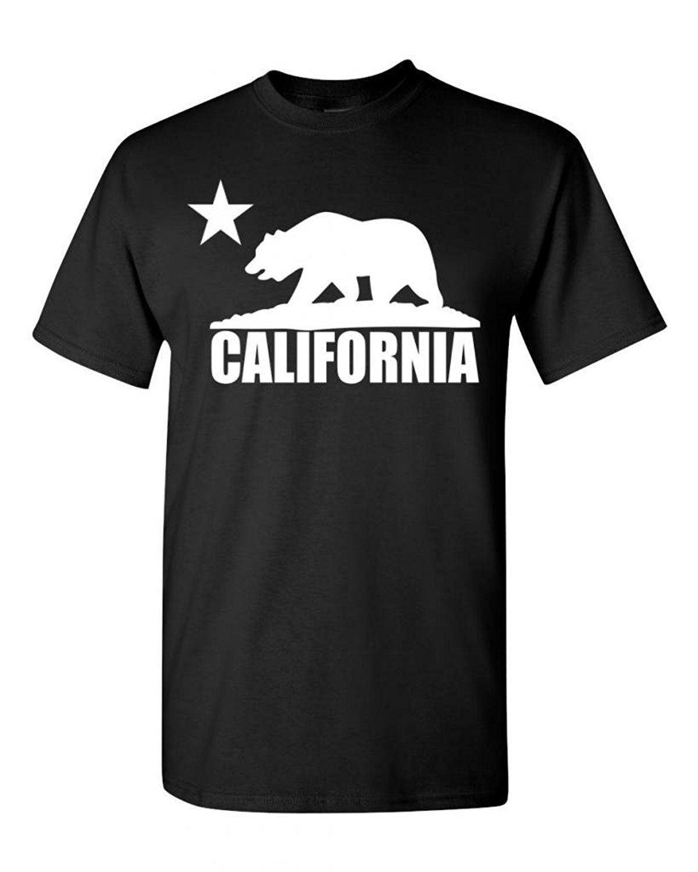 Best quality black t shirt - Fashion High Quality O Neck Stylish T Shirt Best Selling California Designs Unisex Black T