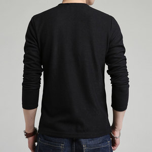 Image 5 - 2020 New Autumn Winter Brand Clothing Sweater Men Fashion Solid Color Slim Fit Cardigan Men Open Stitch Knitted Sweater Men
