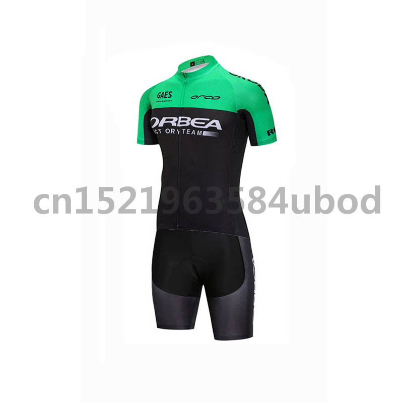 ORBEA team triathlon summer skinsuit cycling jersey set Mountain bike Outdoor sports cycling clothing Maillot Ropa Ciclismo