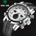 Marca De Luxo WEIDE Homens Esportes Relógios men Quartz Digital LED Militar Do Exército Relógio de Pulso À Prova D' Água Relogio masculino