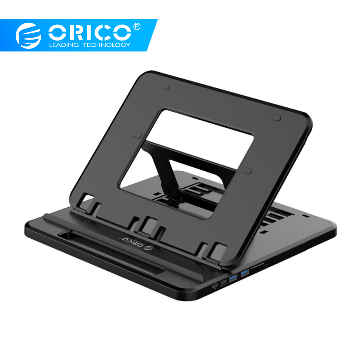 ORICO Tablet Laptop Holder Stand Desk Holder Office For Phone Charge Stand For iPhone Tablets Stand ipad With Type-C SD TFORICO Tablet Laptop Holder Stand Desk Holder Office For Phone Charge Stand For iPhone Tablets Stand ipad With Type-C SD TF