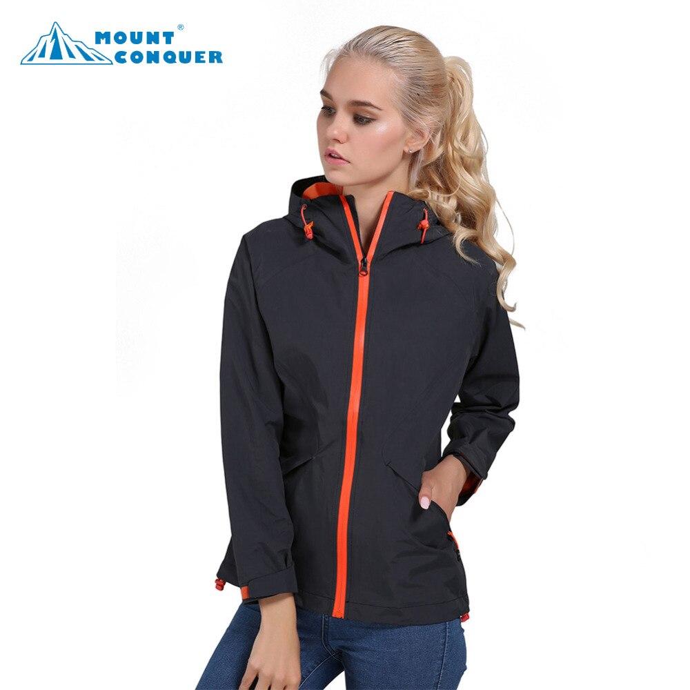 Femmes automne respirant imperméable à capuche coupe-vent pêche Trekking manteau veste extérieure mince randonnée Camping vestes