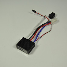 24V Two Way Electronic With Brake Stepless Speed Governor Brush ESC For Car Boat Airplane Model