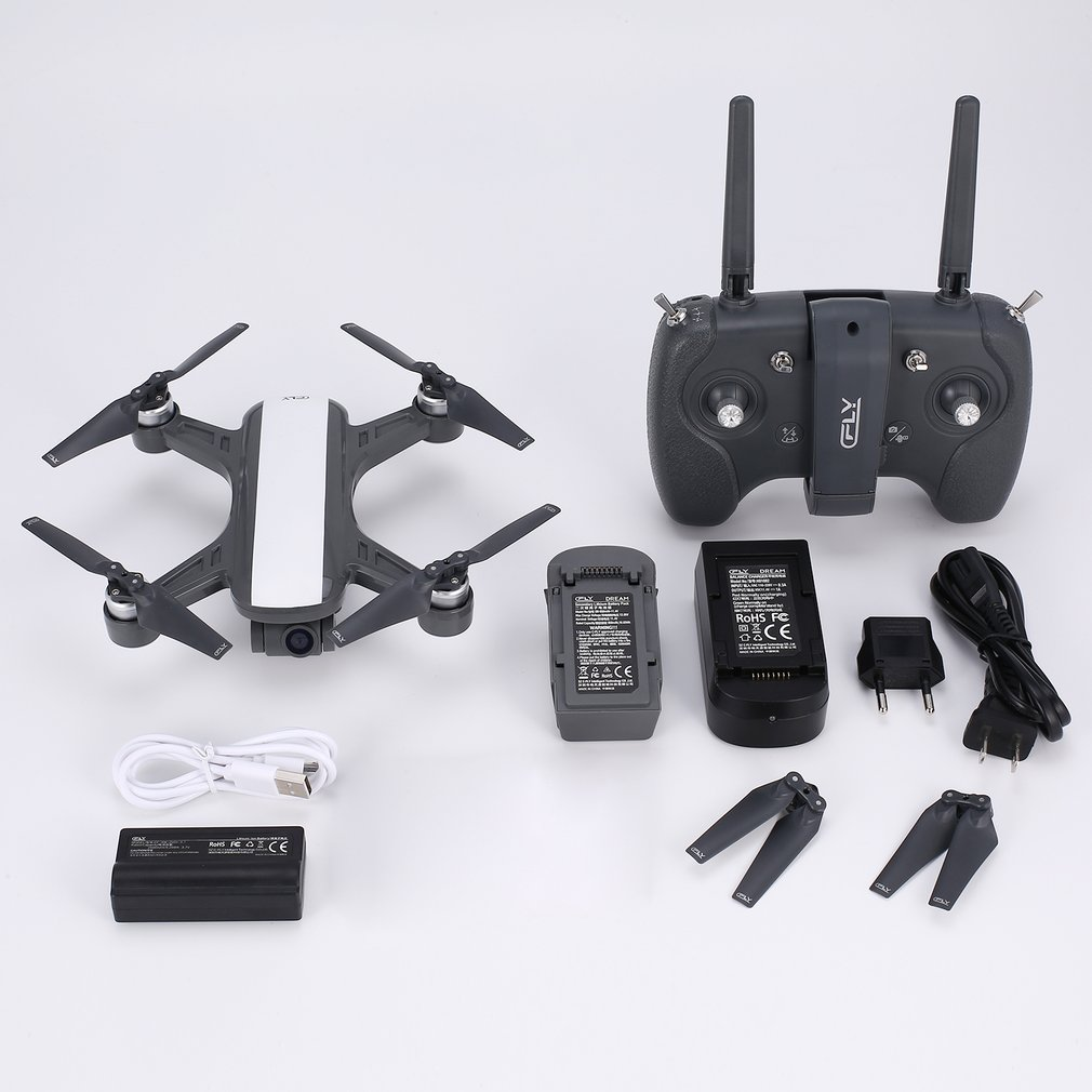 C-FLY Мечта 5 г высота Удержание Дрон GPS оптического потока позиционирования Follow Me RC Quadcopter с 720P HD Камера один ключ возврата