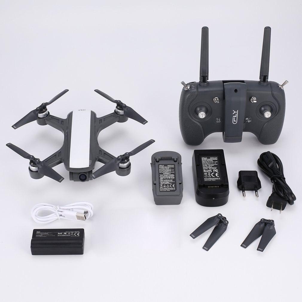 C-FLY Rêve 5g Maintien D'altitude Drone GPS Flux Optique Positionnement Suivez-moi RC Quadcopter avec 720 p HD Caméra un Retour Key
