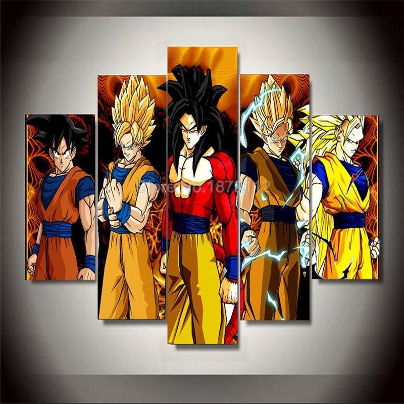 gran venta anime cartel sin marcos de cuadros cuadros cuadros modernos baratos modernos pinturas decorativas de aceite de impresin digital en pintura y