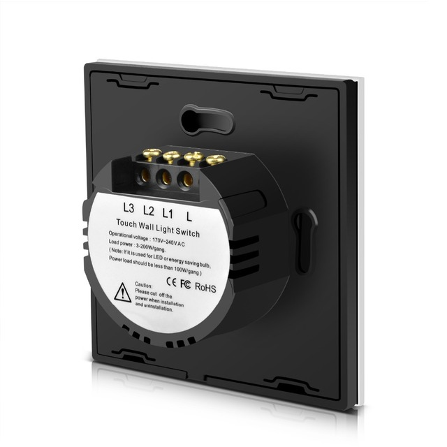 Smart Lamp Touch Sensor Wall Switch (EU UK 220V)