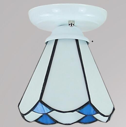corridor lights Tiffany minimalist foyer light aisle ceiling lights Tiffany pastoral porch kitchen lights balcony lamps fumat modern minimalist bedroom ceiling light corridor balcony glass lampshade light kitchen round metal ceiling lamps