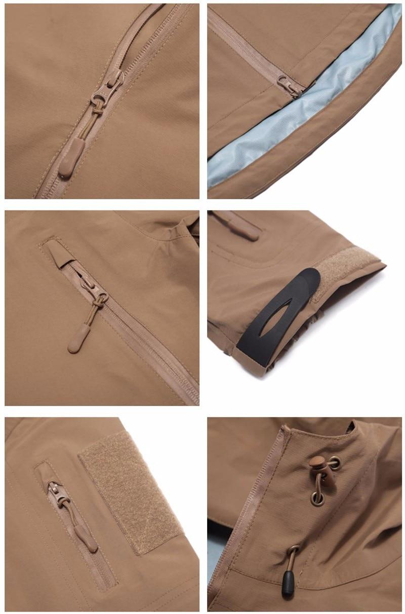 casca dura tático jaqueta primavera outono fino