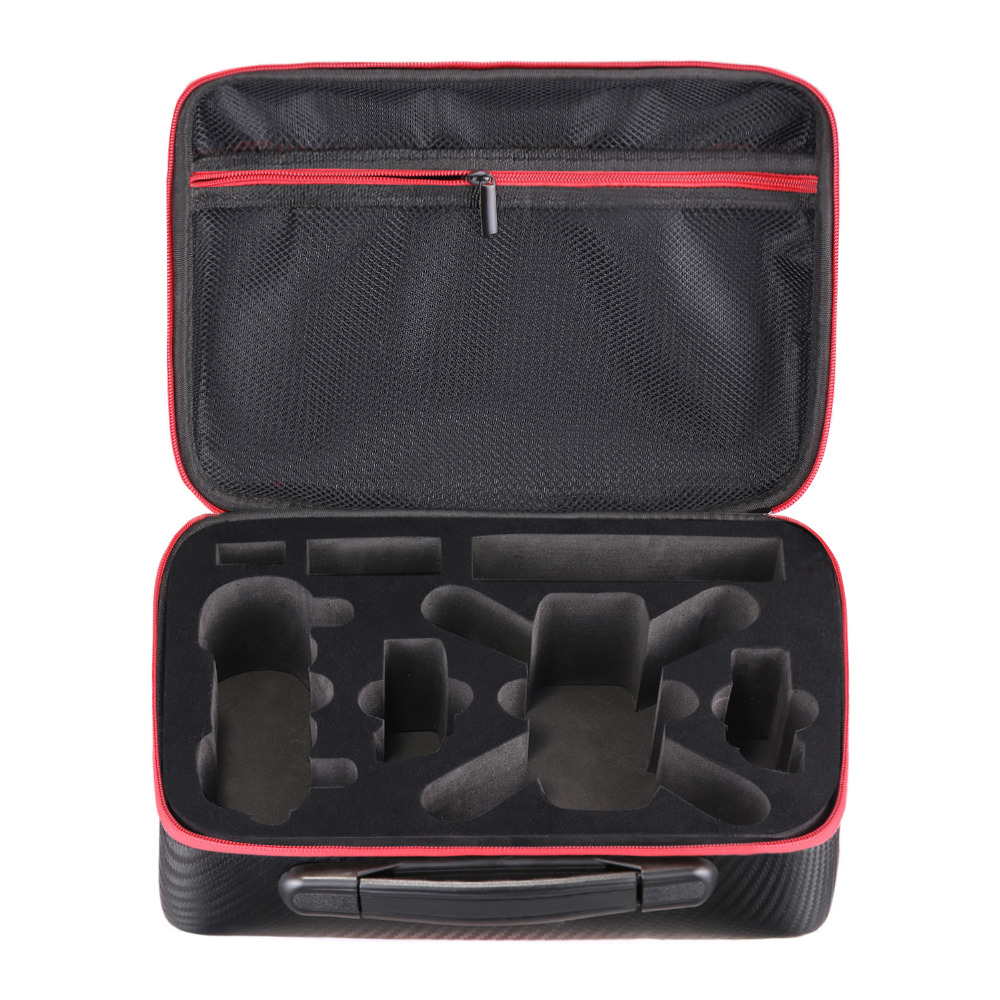 Neewer Protective Carrying Case for DJI Spark Drone – Waterproof Portable Travel Bag with Foam Compartment Mesh Pocket Black