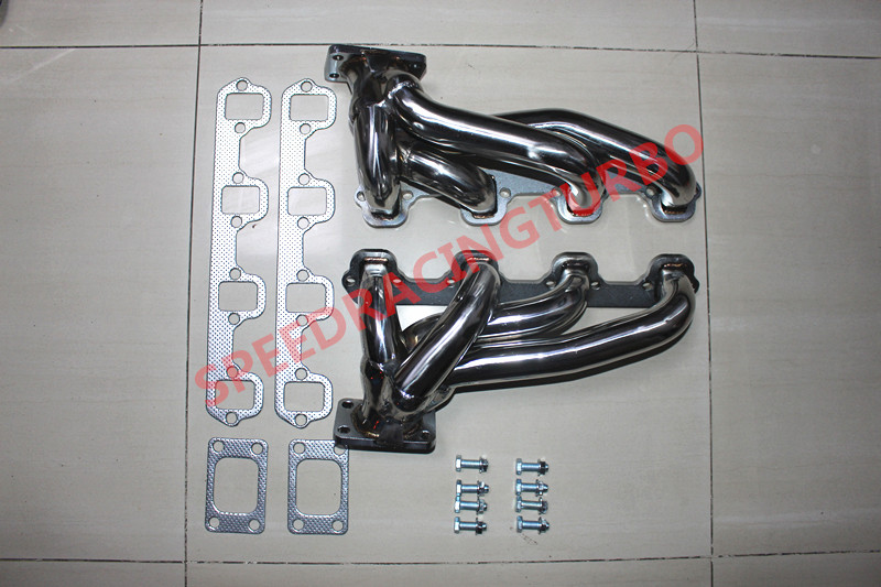 EXHAUST HEADER FOR FITFord FIT Mustang 5.0L V8 T3 T4 Twin Turbo 50pcs lot phd3055e 60v 12a