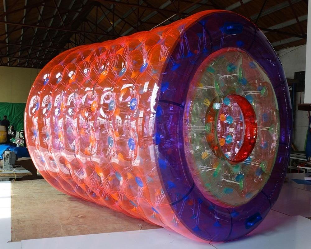 Boule gonflable de marche de l'eau boule d'eau de rouleau de l'eau boule humaine de hamster