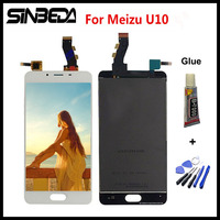 Sinbeda 100 Guarantee 5 0 For Meizu U10 LCD Screen Display Touch Screen Digitizer Assembly Replacement