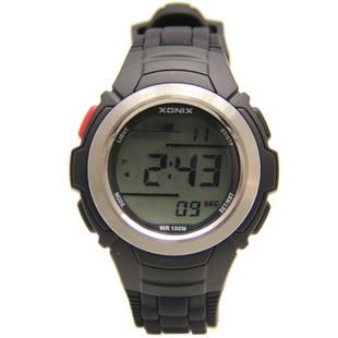 XONIX Бренд Self Calibrating Интернет мужчины Спортивные Часы, 100 М Водонепроницаемый Радио Волна Self Калибровки Цифровые Часы Montre Homme